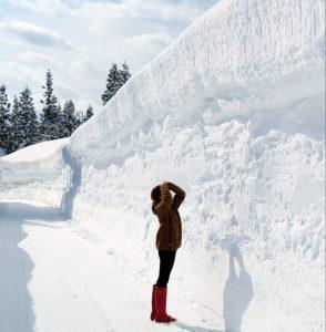 YUKIGUNI covered with snow
