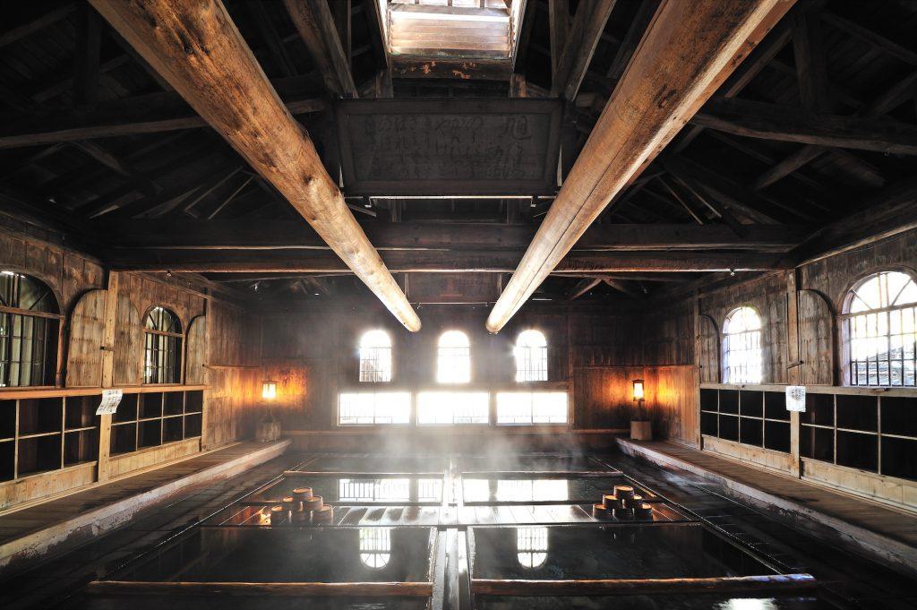 Hot spring in Hoshi onsen Choujukan