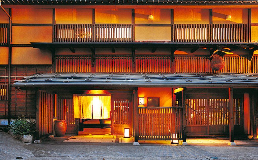 """Hatago Isen"" which is a Modern Luxury hotel in YUKIGUNI, Japan"