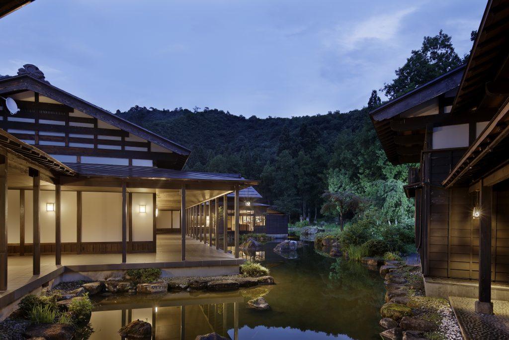 "Ryokan in the garden. Japanese Modern Luxury Ryokan ""ryugon"""