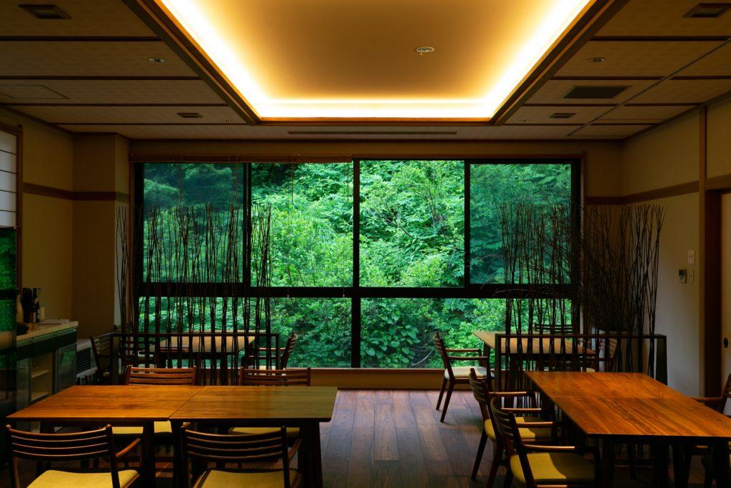 dining room of Tamakiya