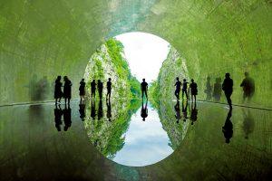 MAD Architects Create A Tunnel Of Light in Echigo-tsumari Art field